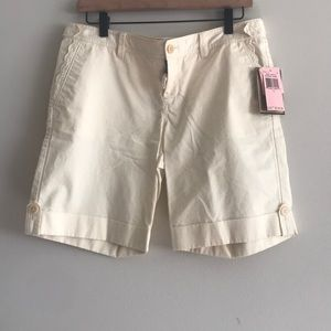 NWT Juicy Couture Bermuda Shorts Size 10